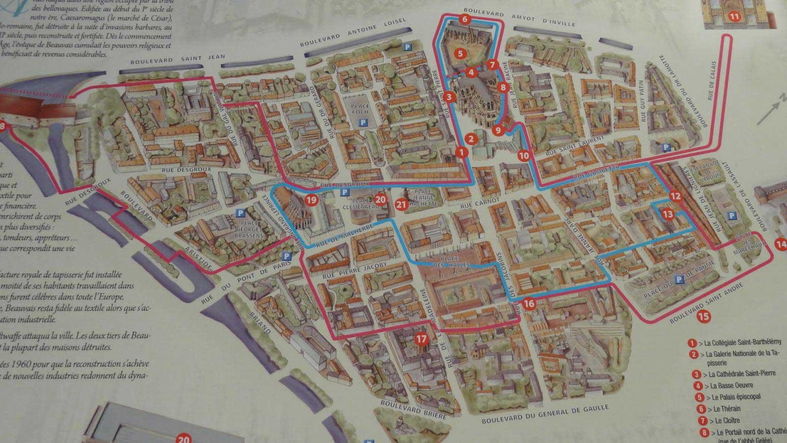 Plan de Beauvais