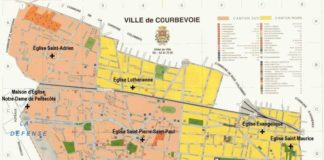 Plan de Courbevoie