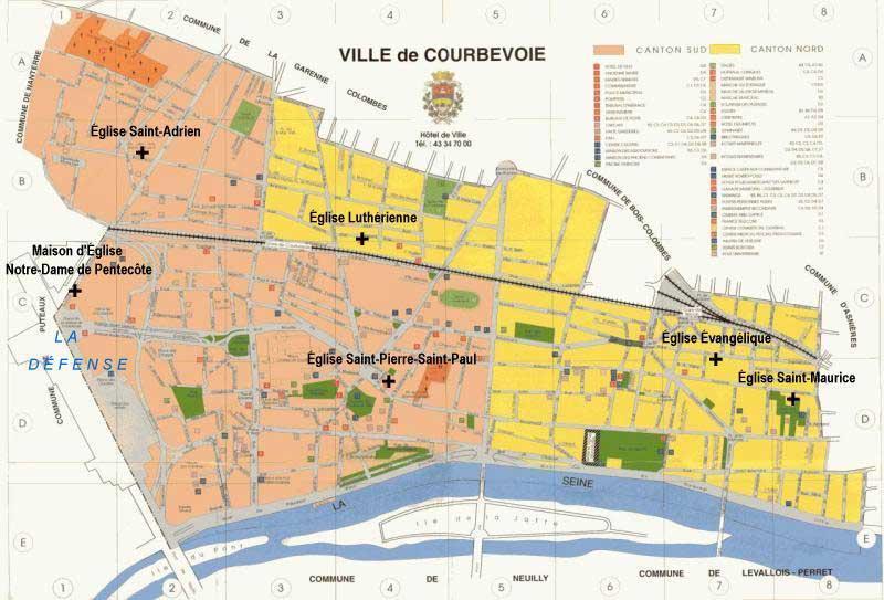 Plan de courbevoie voyages cartes - Piscine municipale de courbevoie ...