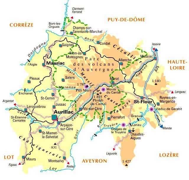 15 Cantal – Plan