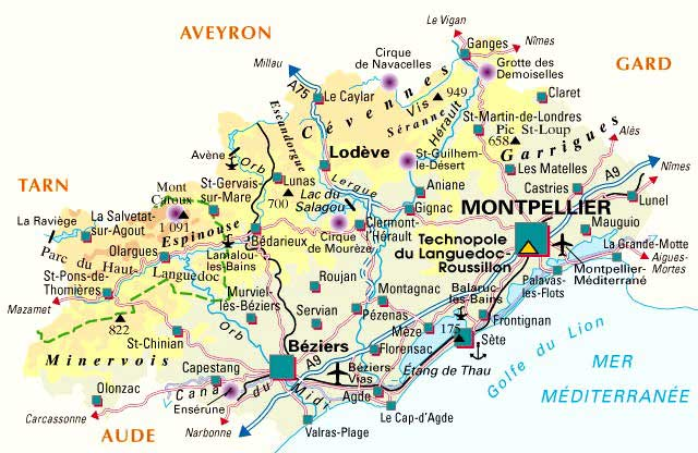 34 Hérault – Plan