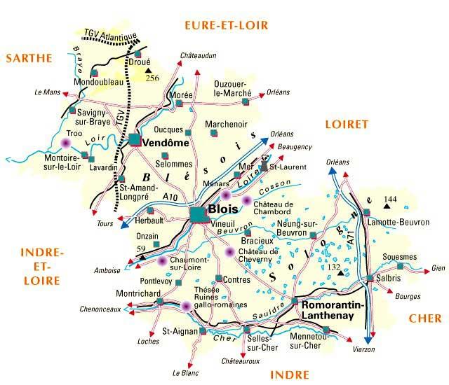 41 Loir-et-Cher – Plan