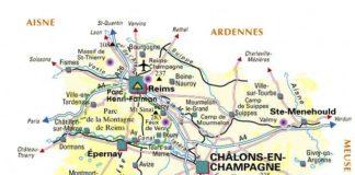 Carte de la Marne - Plan
