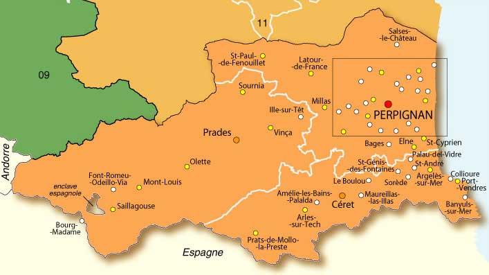 66 Pyrénées-Orientales – Plan
