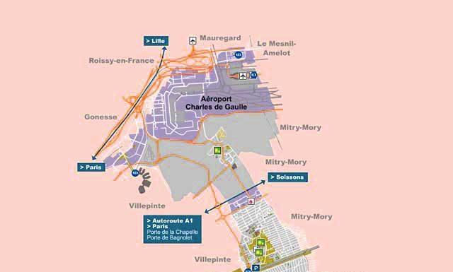 Plan de Tremblay en France