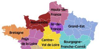 Carte Nouvelle-Aquitaine