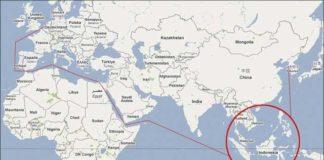 Indonésie carte du monde
